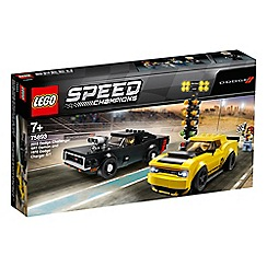 LEGO - Speed Champions 2018 Dodge Challenger SRT Demon and 1970 Dodge Charger R/T Set - 75893