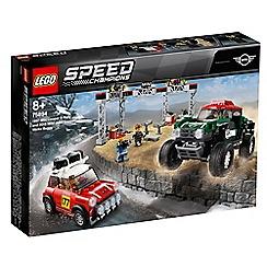 LEGO - Speed Champions 1967 Mini Cooper S Rally and 2018 MINI John Cooper Works Buggy Set - 75894