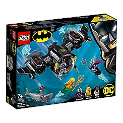LEGO - DC Comics Super Heroes - Batman&#8482  Batsub and The Underwater Clash Set - 76116