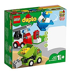 LEGO - Duplo® Creative Play My First Car Creations Set - 10886