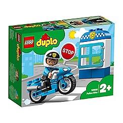 LEGO - Duplo® Town Police Bike Set - 10900