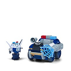 Super Wings - Transform-a-Bot Paul's Police Patroller Vehicle