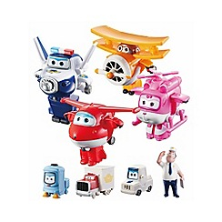 Super Wings - World Airport Flight Crew Set