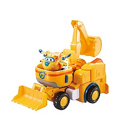 Super Wings - Deluxe Transforming Donnie's Dozer Vehicle