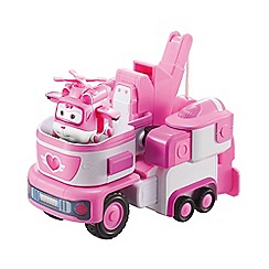 Super Wings - Deluxe Transforming Dizzy's Rescue Tow Vehicle