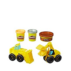 Play-Doh - Wheels Excavator and Loader Toy Construction Truck Set