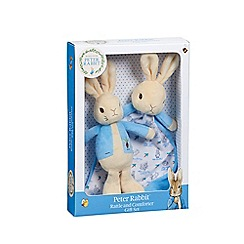 Peter Rabbit - Rattle and Comforter Gift Set