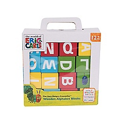 The Very Hungry Caterpillar - Wooden Alphabet Blocks