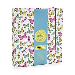Tri Coastal - Multi-coloured butterfly print gardening planner
