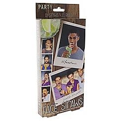 Paladone - Face Straws