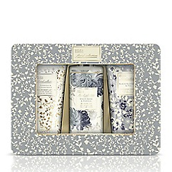 Baylis & Harding - Royal Bouquet Grey 3 Piece Tin