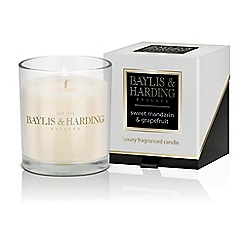 Baylis & Harding - Sweet Mandarin Single Boxed Candle
