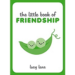 Debenhams - Little book of friendship book