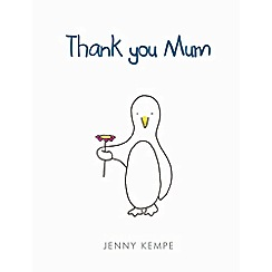 Debenhams - Thank you mum book