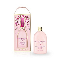 Baylis & Harding - Rose prosecco fizz bath bubbles 500ml