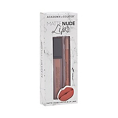 Academy of Colour - 'Matte Nude Lips' set