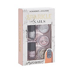 Academy of Colour - Sparkle Nails set