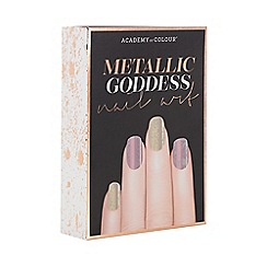 Academy of Colour - Metallic goddess nail art book