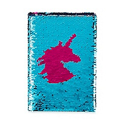 Cosy Friends - Pink Sequined Unicorn Notebook