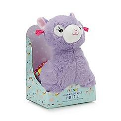 Cosy Friends - Purple Llama heatable hottie