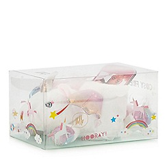 Cosy Friends - White unicorn phone holder