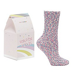Cosy Friends - Multicoloured Unicorn Socks Set