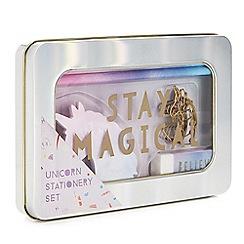 Cosy Friends - Unicorn stationery set