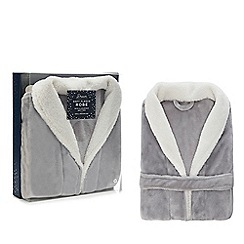 Dream - Grey fleece dressing gown