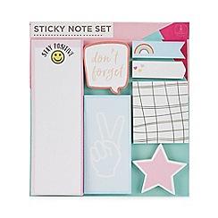 Pink Pineapple - Sticky note set