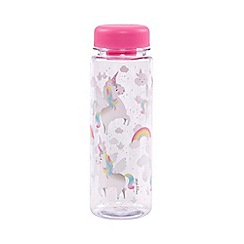 Sass & Belle - Rainbow Unicorn Water Bottle
