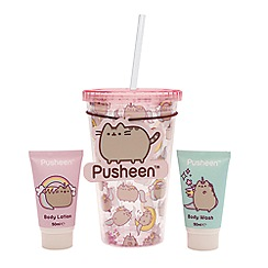 Pusheen - Drinking Cup and Body Care Gift Set