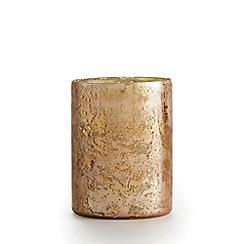 Illume - Emory glass coconut milk mango scented candle