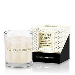 Baylis & Harding - Sweet Mandarin and Grapefruit 1 Wick Scented Candle