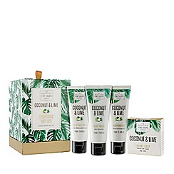 Scottish Fine Soaps - Coconut and lime luxurious gift set