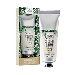 Scottish Fine Soaps - Coconut and lime hand and nail cream 75ml