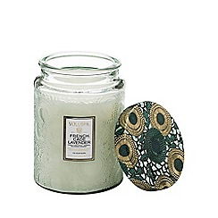 VOLUSPA - Large Japonica French Cade Lavender Scented Jar Candle