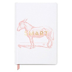 Designworks - White 'Smart Ass'áVintage Sass Notebook