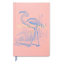 Designworks - Pink 'Winging It' vintage sass notebook