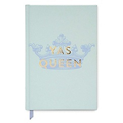 Designworks - Mint 'Yas Queen' vintage sass notebook