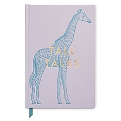 Designworks - Lilac 'Tall Tales' vintage sass notebook