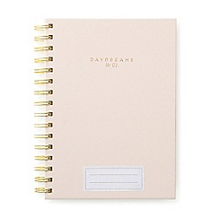 Designworks - Blush 'Daydreams' twin wire notebook