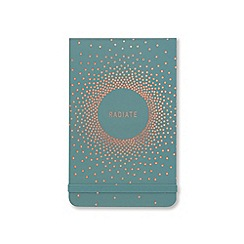 Designworks - 'Radiate' pocket note pad