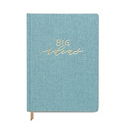 Designworks - Big Ideas' Cloth Cover Notebook