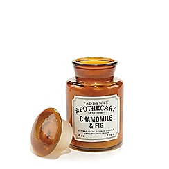 Paddywax - Large 'Apothecary' chamomile and fig scented candle