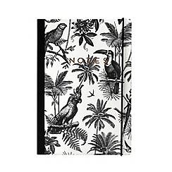 Alice Scott - Black and White 'Notes' B5 Notebook