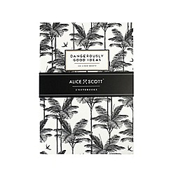Alice Scott - Set of 2 Black and White A5 Notebooks