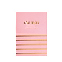 Alice Scott - Pink 'Goal Digger' Weekly Agenda Diary