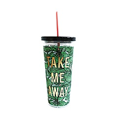 Alice Scott - Palm Print 'Take Me Away' Tumbler