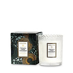 VOLUSPA - Limited Edition Japonica French Cade and Lavender Scented Pot Candle