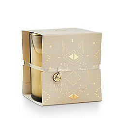 Illume - 'Holiday Shine' Twilight Vanilla Wrapped Scented Candle 240g